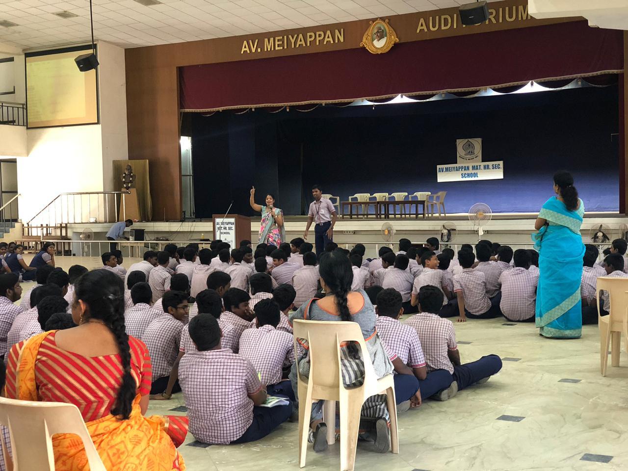 A.V. Meyappan Mat school-25th Jan 2019